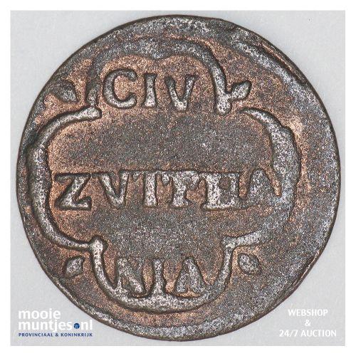Zutphen - Duit - 1687 (kant B)