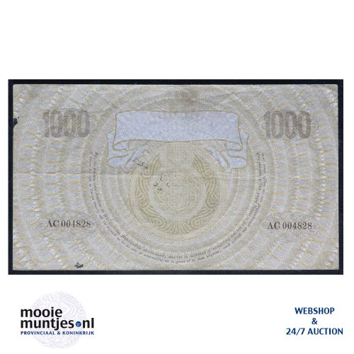 1000 gulden  - 1919 (Mev. 151-1b / AV 106) (kant B)