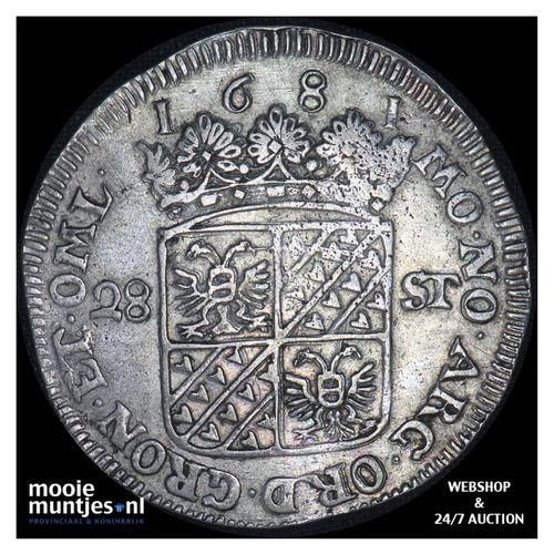Groningen - Florijn - 1681 (kant A)