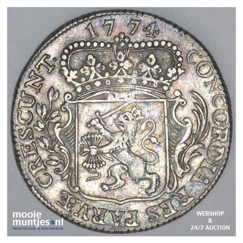 Zeeland - Kwart dukaat  - 1774 (kant A)