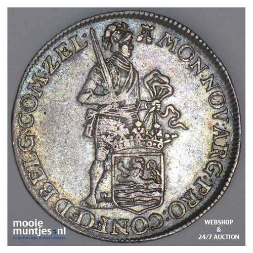 Zeeland - Kwart dukaat  - 1774 (kant B)