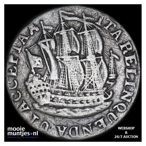 Zeeland - Scheepjesschelling - 1767 met ARGEN (kant B)
