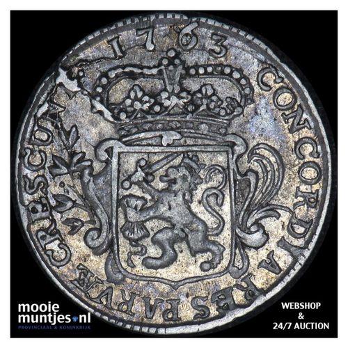 Zeeland - Achtste dukaat of Pietje - 1763 (kant A)