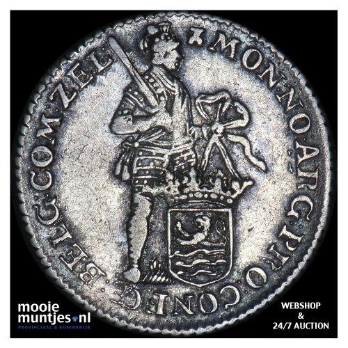 Zeeland - Achtste dukaat of Pietje - 1775 (kant B)