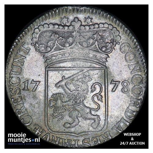 Zeeland - Zilveren dukaat - 1778 (kant A)