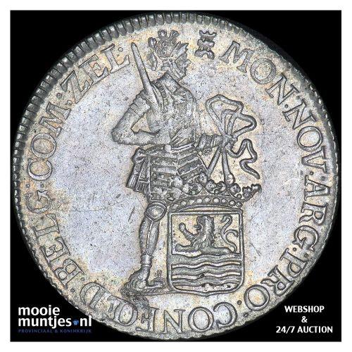 Zeeland - Zilveren dukaat - 1778 (kant B)