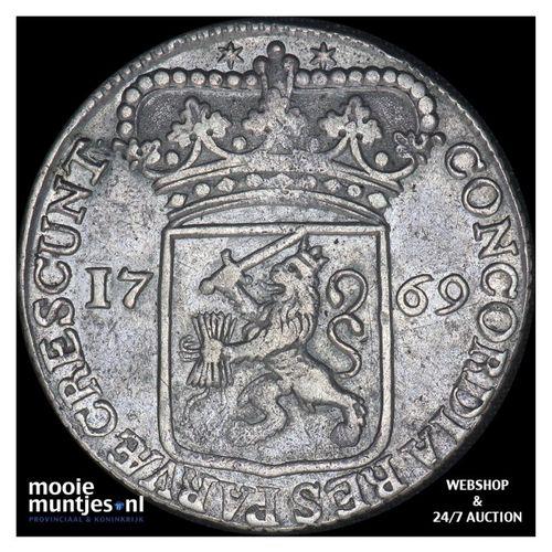 Zeeland - Zilveren dukaat - 1769 (kant A)