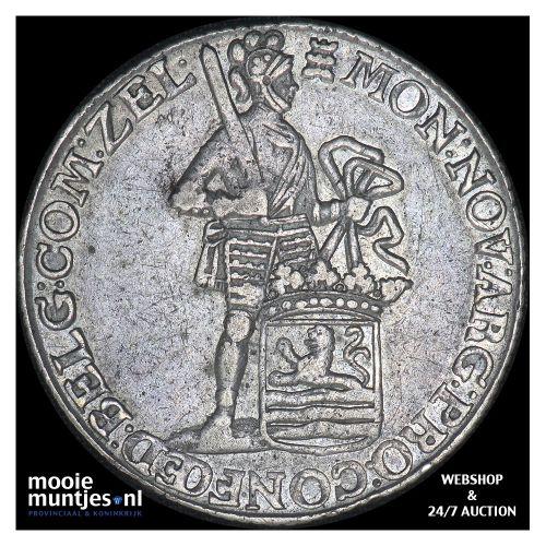 Zeeland - Zilveren dukaat - 1769 (kant B)