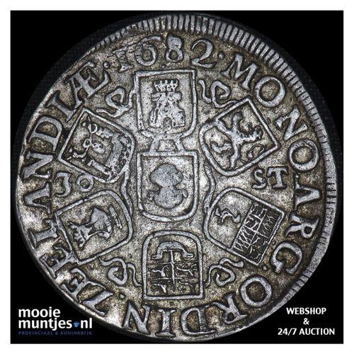Zeeland - Daalder van 30 stuiver - 1682 (kant A)