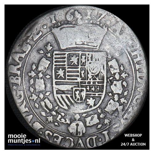 Brabant-´s-Hertogenbosch - Kwart patagon - 1617 (kant A)