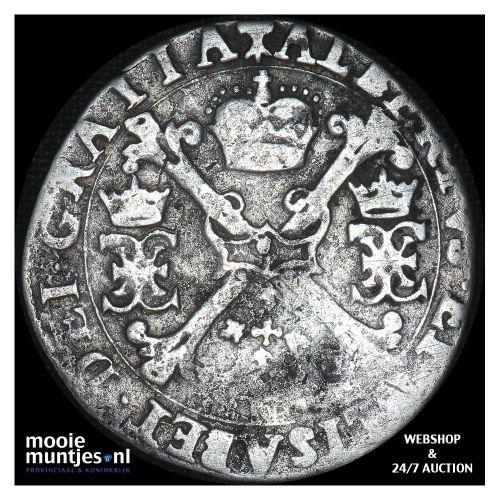 Brabant-´s-Hertogenbosch - Kwart patagon - 1617 (kant B)