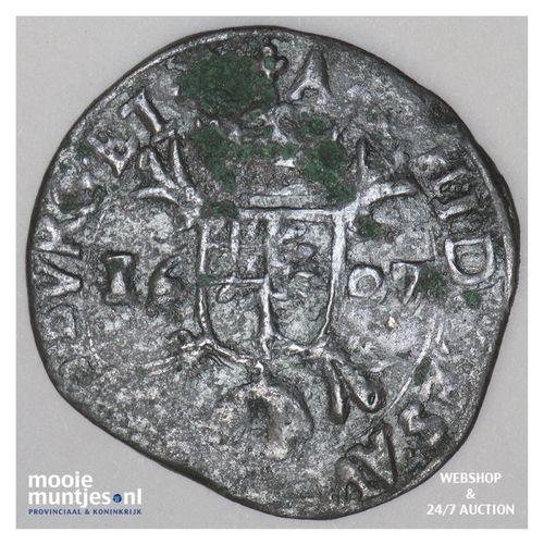 Brabant-´s-Hertogenbosch - Kwart stuiver of oord van 12 mijten - 1607 (kan