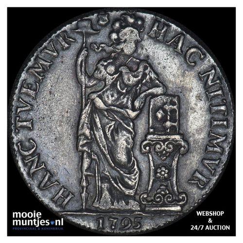 Utrecht - 3 gulden - 1795 (kant A)