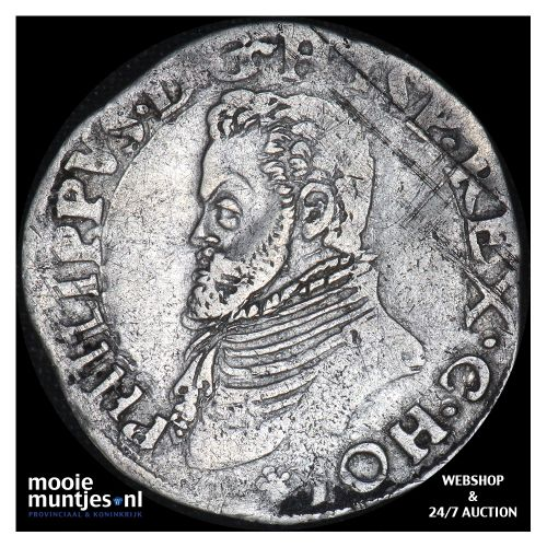 Holland - Vijfde Philipsdaalder - 1567 (kant B)