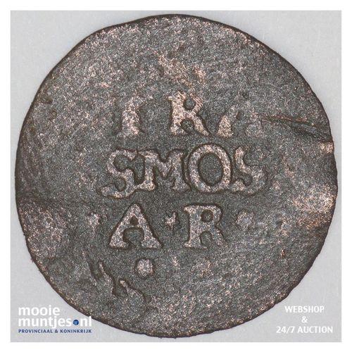 Gronsveld - Achtste stuiver of duit - z.j. (kant A)