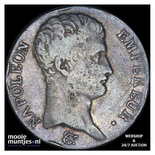 5 francs - France AN 13 M (Toulouse) (KM 662.10) (kant B)