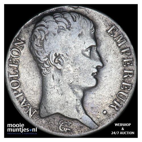 5 francs - France 1807 L (Bayonne) (KM 662.10) (kant B)