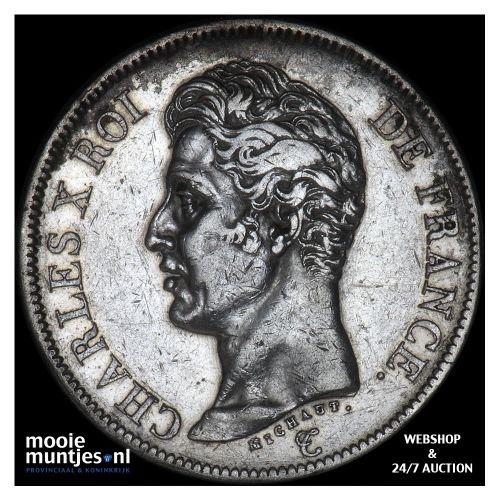 5 francs - France 1826 A (Paris) (KM 720.1) (kant B)