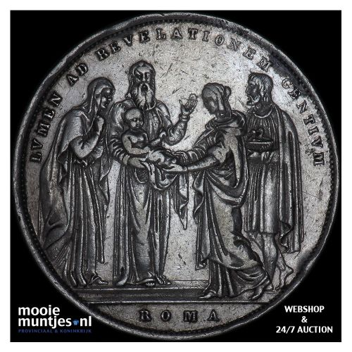 scudo - Italian States/Papal States 1831 (KM 1315.1) (kant B)