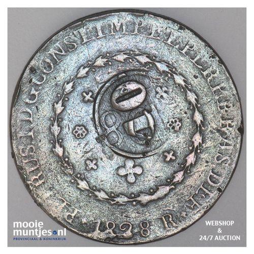 40 reis - Brazil 1828 R (KM 444.1) (kant A)