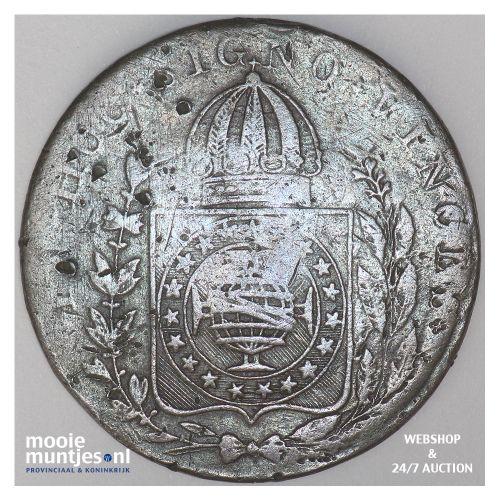 40 reis - Brazil 1828 R (KM 444.1) (kant B)
