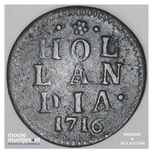 Holland - Duit - 1716 (kant A)