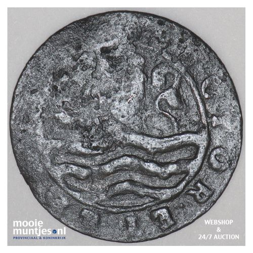 Zeeland - Duit - 1714 (kant B)