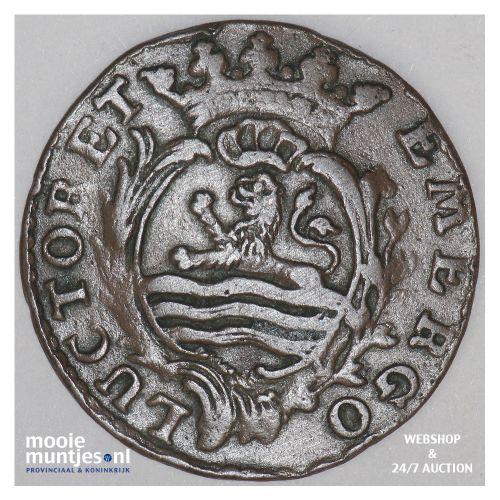 Zeeland - Duit - 1777 (kant B)