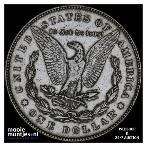 dollar - Morgan - United States of America/Circulation coinage 1878 (KM 110) (ka
