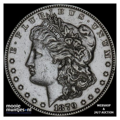 dollar - Morgan - United States of America/Circulation coinage 1879 S (KM 110) (