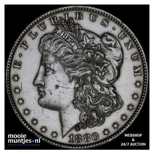 dollar - Morgan - United States of America/Circulation coinage 1880 O (KM 110) (