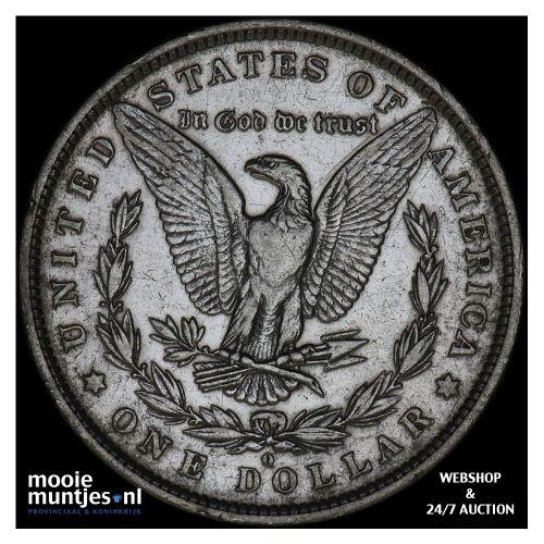 dollar - Morgan - United States of America/Circulation coinage 1882 O (KM 110) (