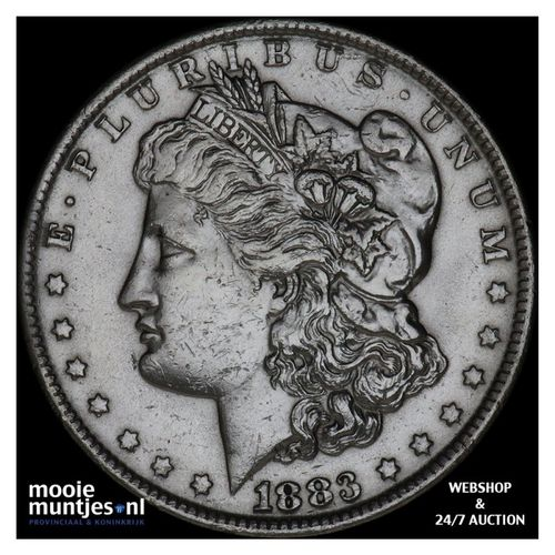 dollar - Morgan - United States of America/Circulation coinage 1883 O (KM 110) (