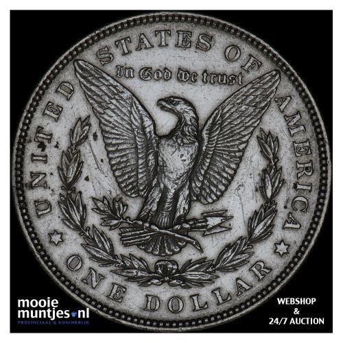 dollar - Morgan - United States of America/Circulation coinage 1884 (KM 110) (ka
