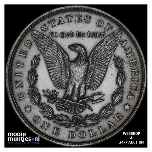 dollar - Morgan - United States of America/Circulation coinage 1885 O (KM 110) (