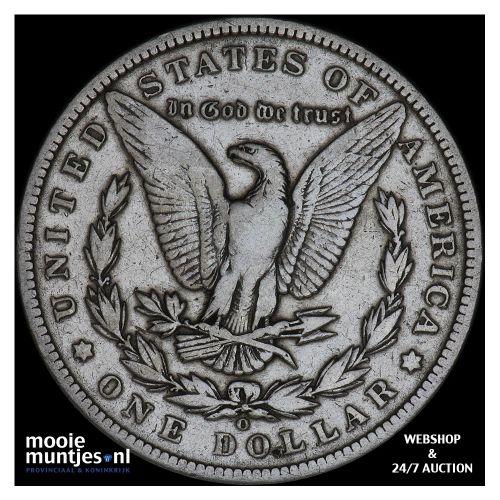 dollar - Morgan - United States of America/Circulation coinage 1891 O (KM 110) (