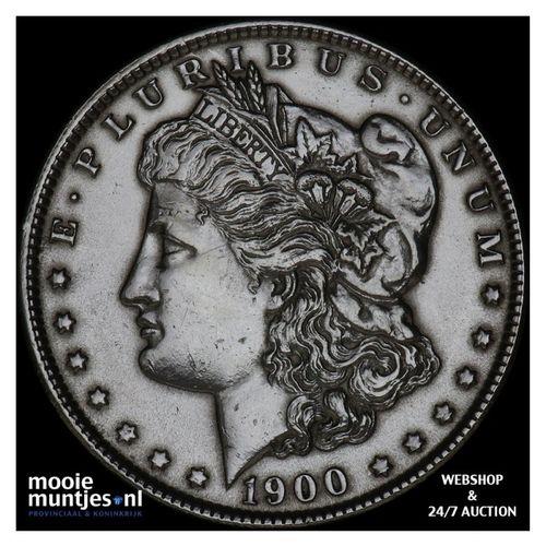 dollar - Morgan - United States of America/Circulation coinage 1900 (KM 110) (ka