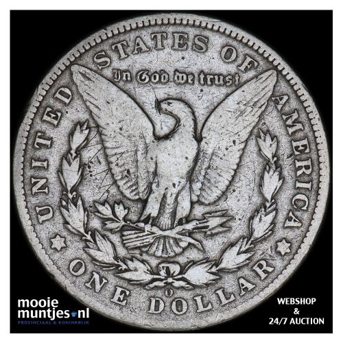 dollar - Morgan - United States of America 1901 O (KM 110) (kant B)