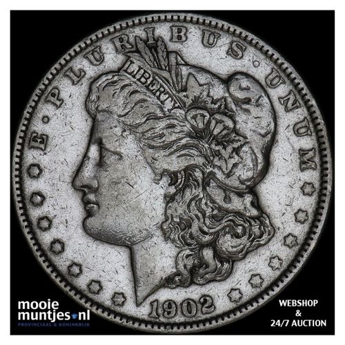 dollar - Morgan - United States of America 1902 (KM 110) (kant A)