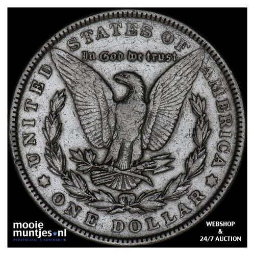 dollar - Morgan - United States of America 1902 (KM 110) (kant B)