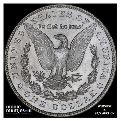 dollar - Morgan - United States of America 1904 O (KM 110) (kant B)