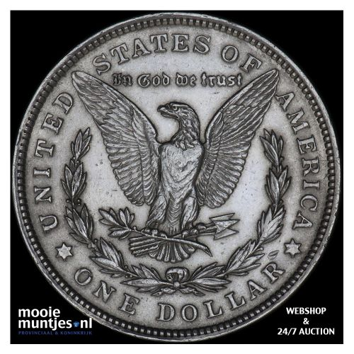 dollar - Morgan - United States of America 1921 (KM 110) (kant B)