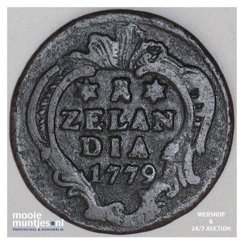 Zeeland - Duit - 1779 (kant A)