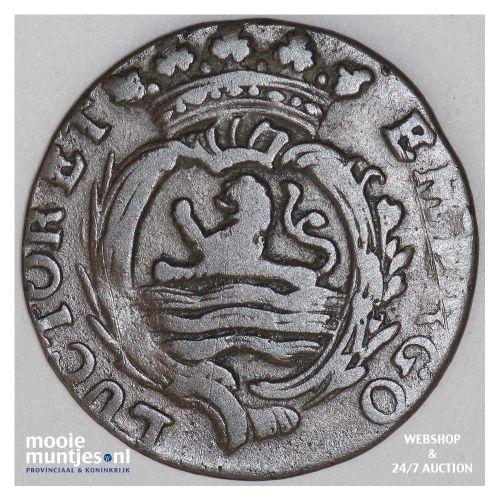 Zeeland - Duit - 1769 (kant B)