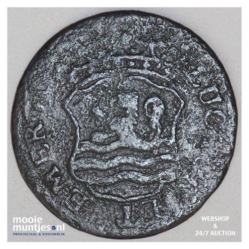 Zeeland - Duit - 1754 emergo (kant B)
