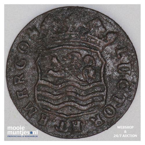 Zeeland - Duit - 1741 (kant B)