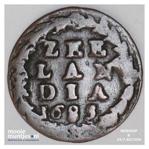 Zeeland - Duit - 1685 (kant A)