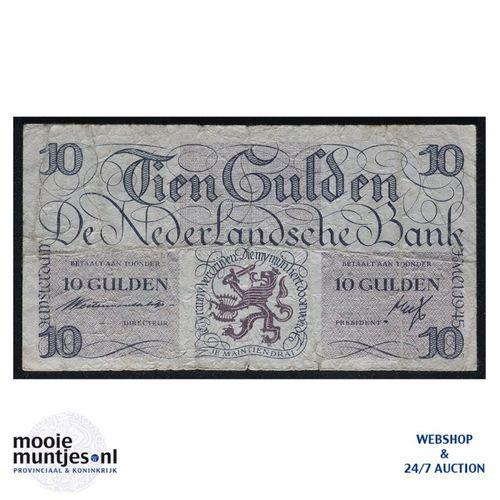 10 gulden  - 1945 (Mev. 45-1a / AV 34) (kant A)