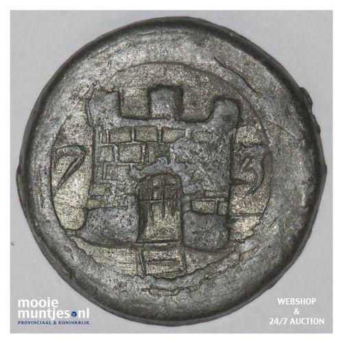 Alkmaar - Kwart daalder - 1573 (kant A)