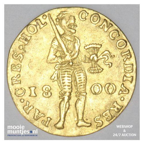 Holland - Gouden dukaat - 1800 (kant A)